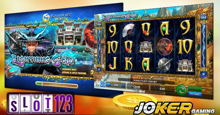 Review Game Slot Online Lightning God Agen Joker Gaming