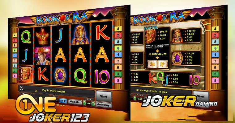 Review Game Slot Online Slot Book Of Ra Di Agen Joker123