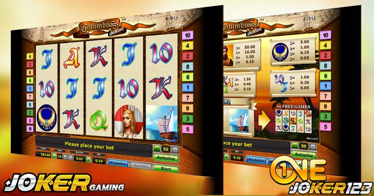 Casino Review Game Slot Online Columbus Deluxe Di Agen Joker123