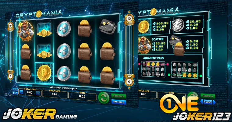 Review Game Slot Online Crypto Mania Di Agen Joker123 Casino