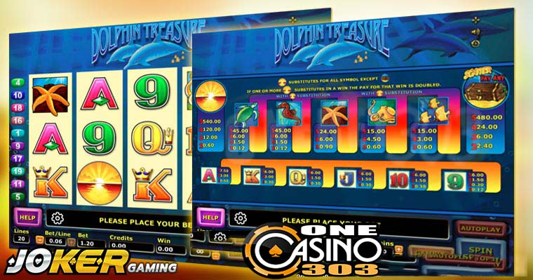 Review Game Slot Online Dolphin Treasure Di Agen Joker123