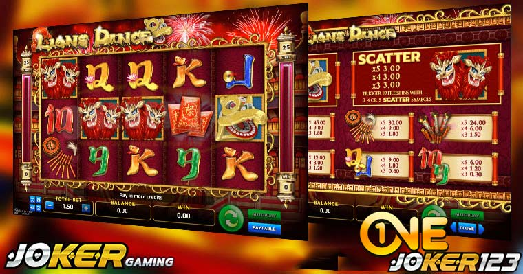 Review Game Slot Online Lions Dance Di Agen Joker123 Casino