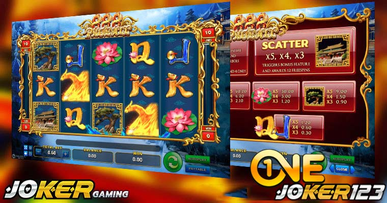 Review Game Slot Online Phoenix 888 Di Agen Joker123 Casino