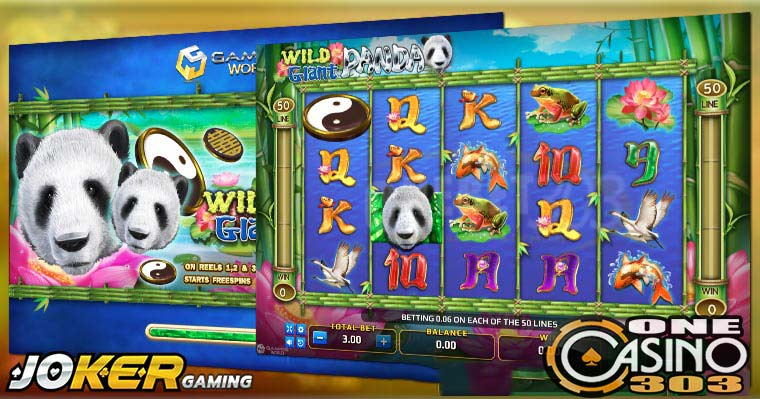 Review Game Slot Online Wild Giant Panda Agen Joker Gaming